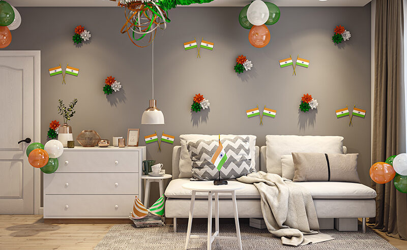 Republic day decoration and wallpaper ideas for your home