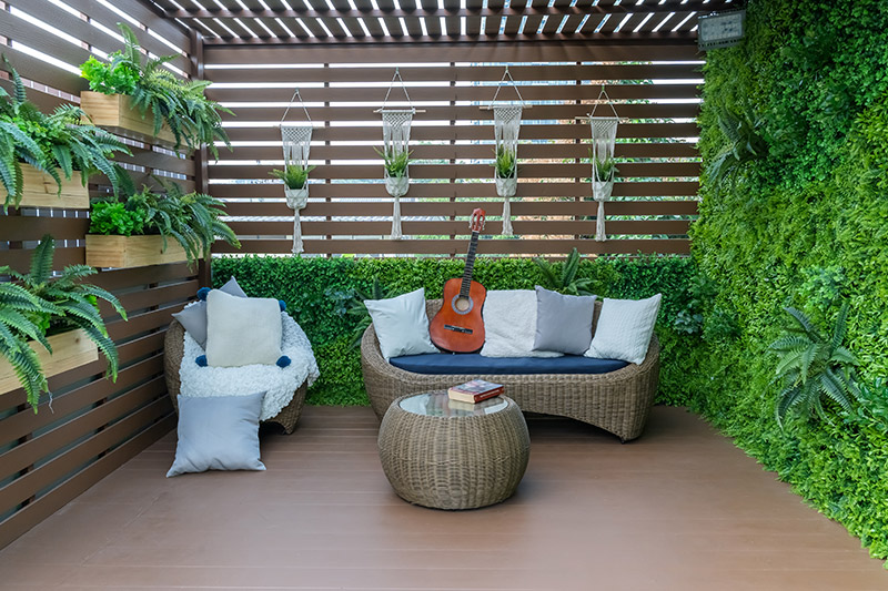 Small balcony decoration ideas where vertical gardens are visually appealing and please the soul too with balcony decor diy