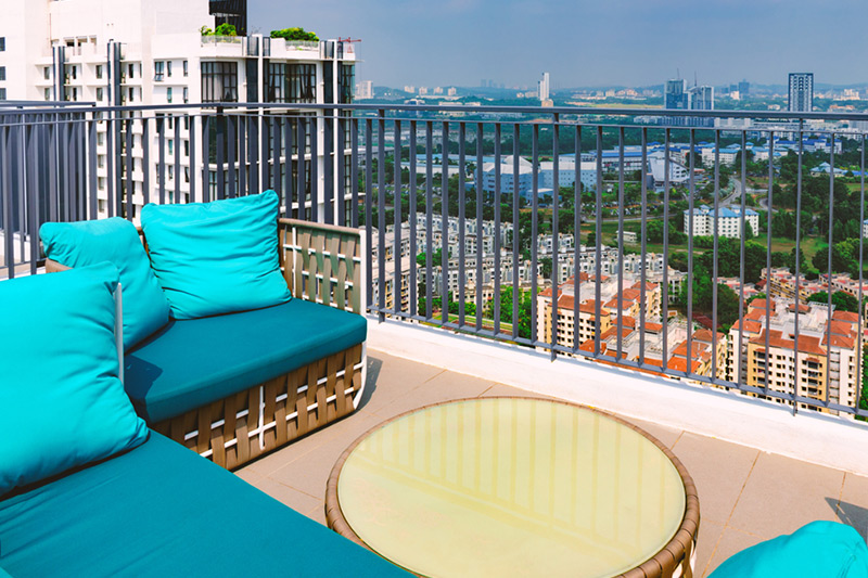Balcony chairs for your home
