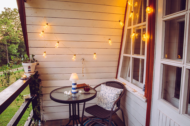 Balcony decoration where more specifically fairy lights are the way to go for balcony decoration lights