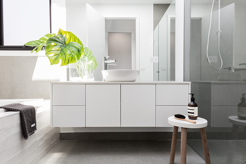 Bathroom mirror with storage for your home with all essential interiors in with bathroom rack designs