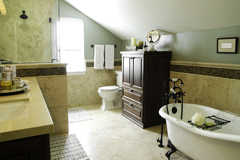 Bathroom racks and shelves with an old world charm with a storage unit as an option for bathroom storage