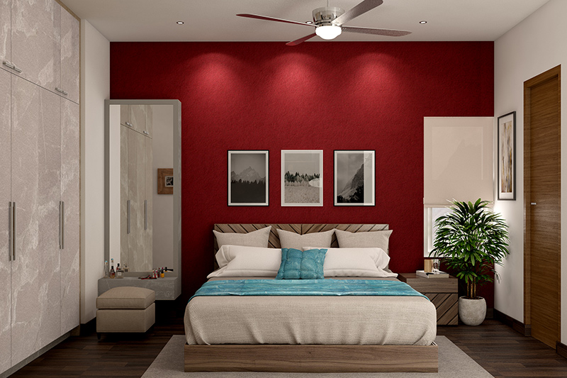 Bed design for your home where the dimensions of your bedroom determine the size of your bed for bedroom design