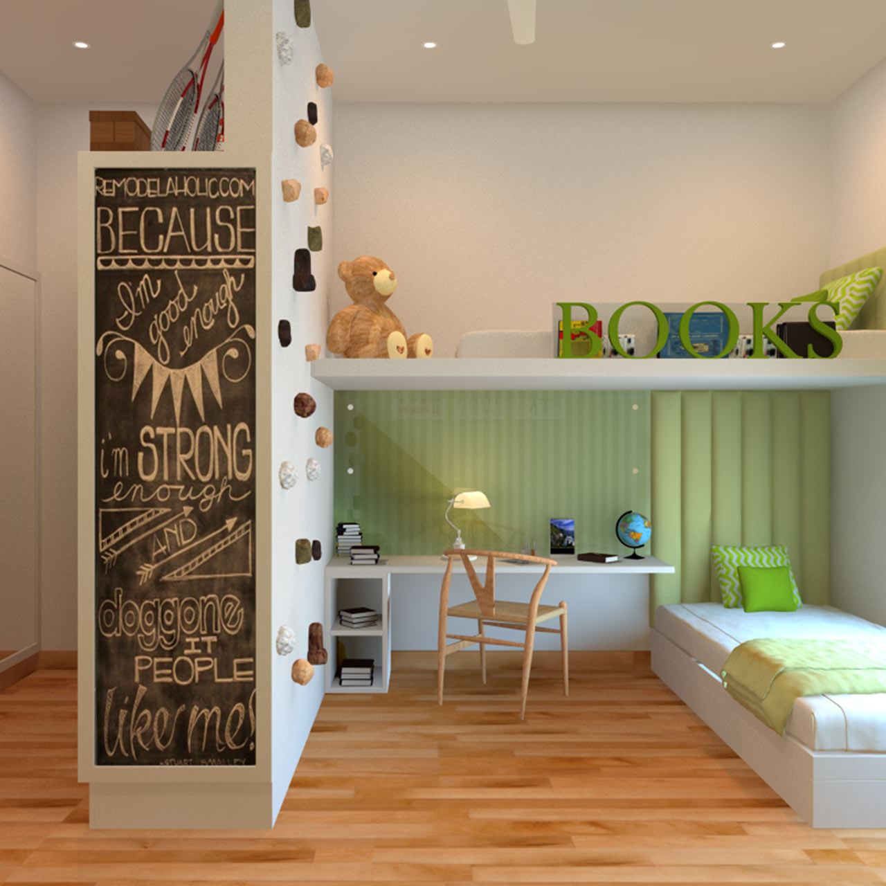 Childern bedroom where they love being all over the space with their toys in bedroom designs for kids childern