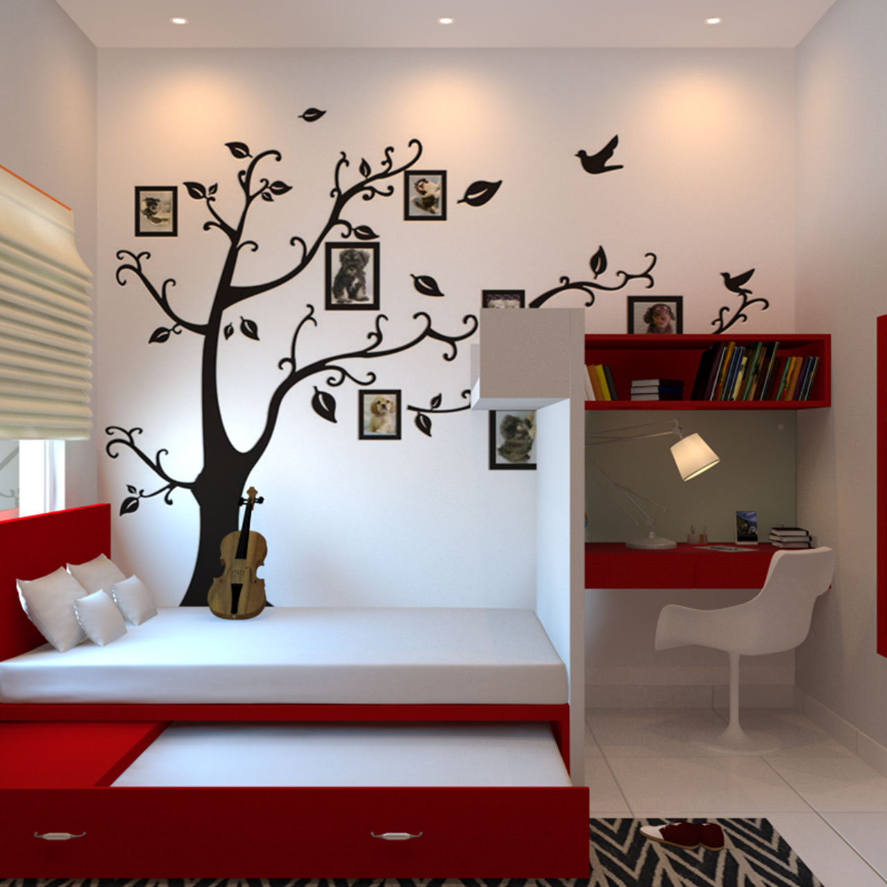 Childrens bedroom furniture where they learn more from subtle influences than actually being taught anything in kids bedroom design