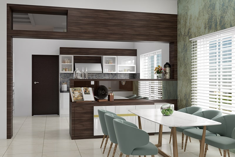 Dining room console cabinets gives modern look your dining room interior