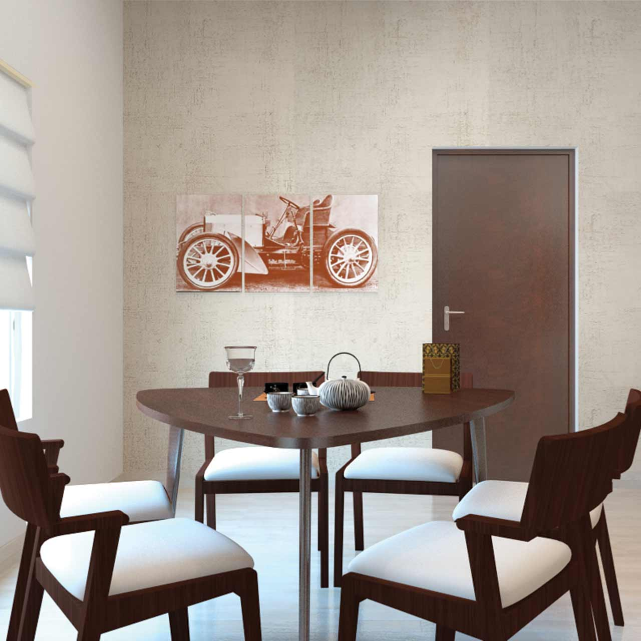 Dining room decor to carry forward the design style of your dining table to the seating with these dining room decor ideas