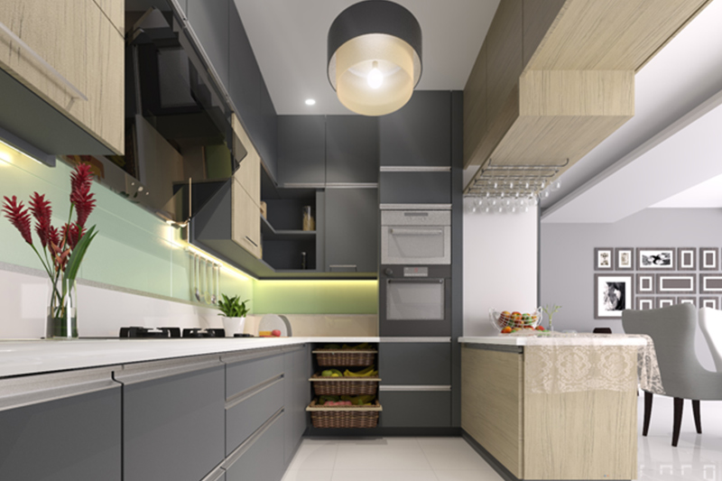 L shaped modular kitchen designs where you have utilise your maximum space in the small l shaped kitchen design