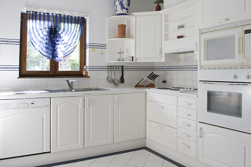 L shaped modular kitchen where you can get creative with the corners in l type kitchen design