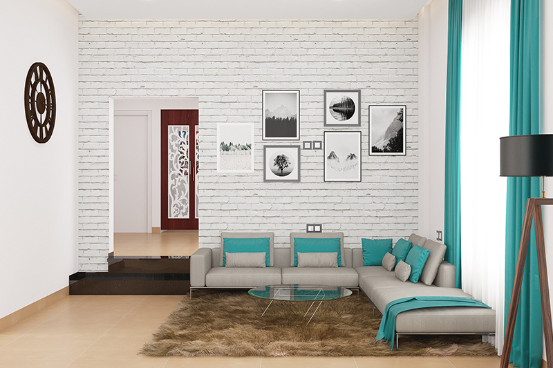 Living room floor tiles which are great options for living room flooring as they are highly durable and here are also some living room floor ideas