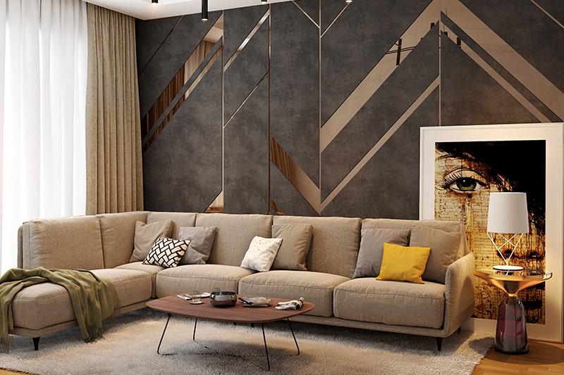 10 Brilliant Living Room Wall Decor Ideas | Design Cafe on Wall Decor For Living Room  id=25018