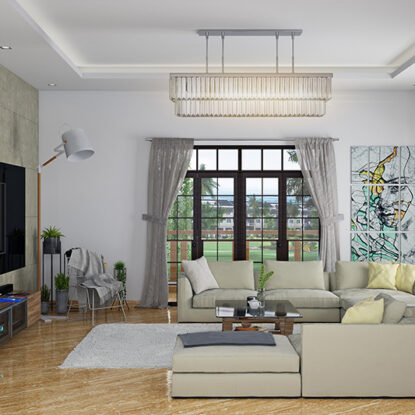 Living room wall tiles for your home