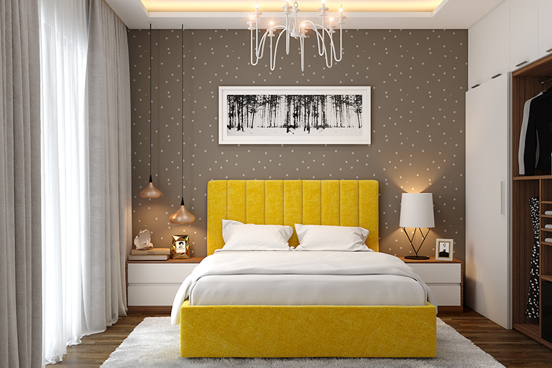20 Modern Bedroom Wallpaper Design Ideas | Design Cafe