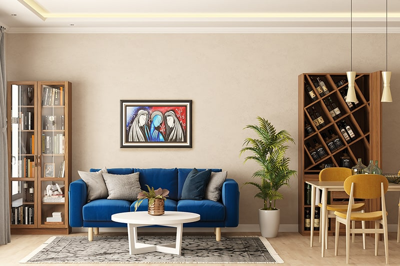 Grey and white are the trending interior design colours for namma bengaluru homes in 2020