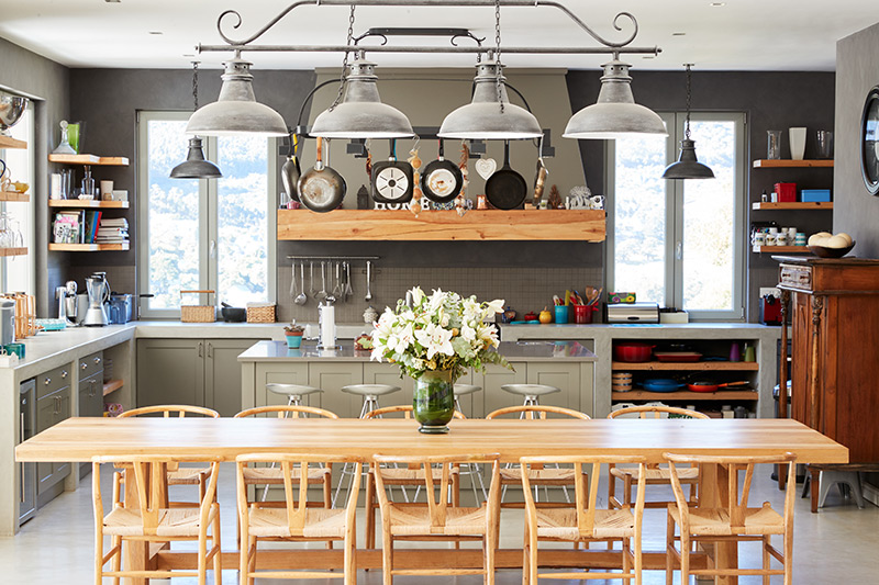 Open Kitchen Designs: The Centre Of