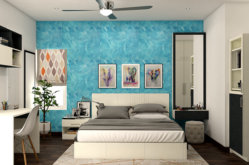 teenage wallpaper designs with blue shaded for those who love the calm and soothing effect of water for bedroom design wallpaper