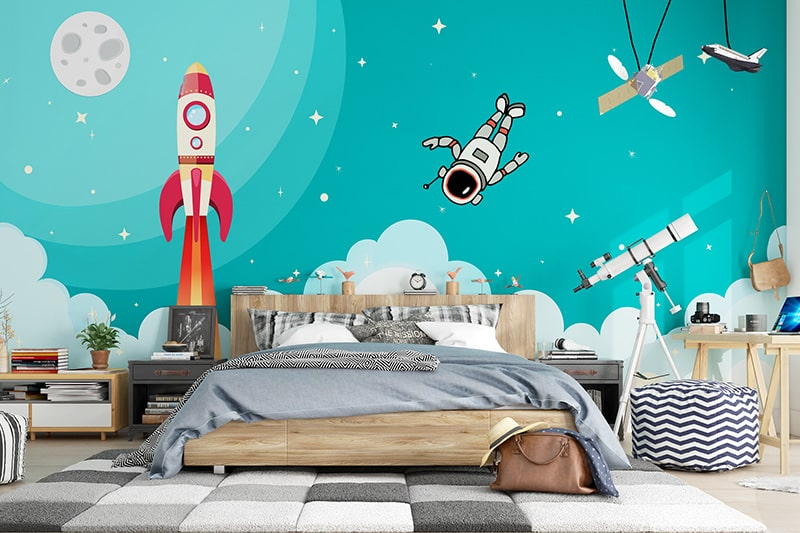 Vastu colours for the kids bedroom can include light green, light yellow, light blue or lavender