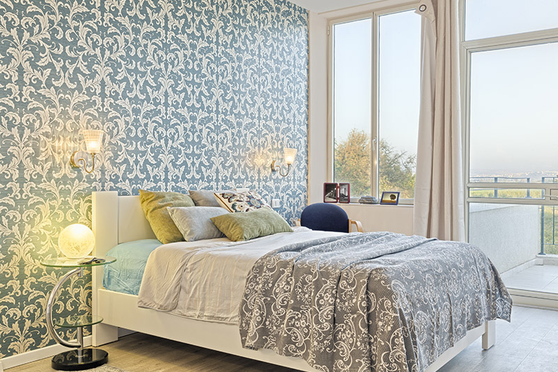 Wallpaper design for bedroom for a classical patterned wallpaper with intricate design for wallpaper design for bedroom price
