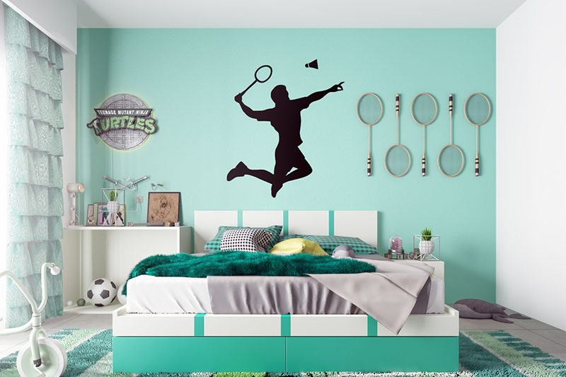 Wallpaper for bedroom walls designs for the sporty gene in you which reflects the side of you for bedroom design wallpaper