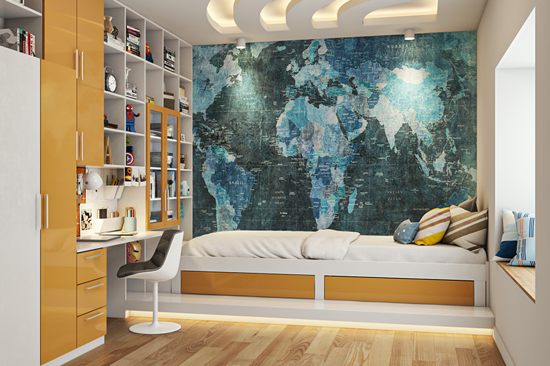 Teen boy bedroom design ideas