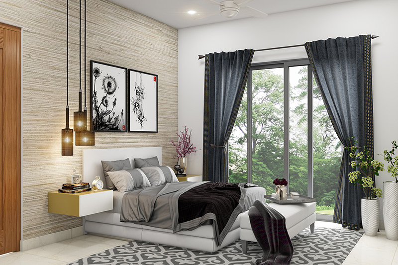 Textured painting techniques that make your home luxurious high-end look of a linen or fabric wall covering at the reasonable cost of paint