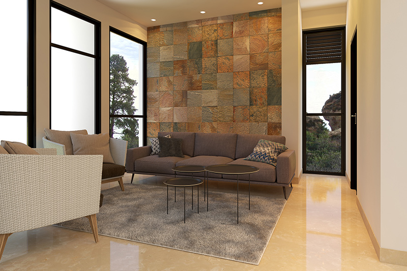 End of summer decorating ideas make a living room with minimalist furniture designs.