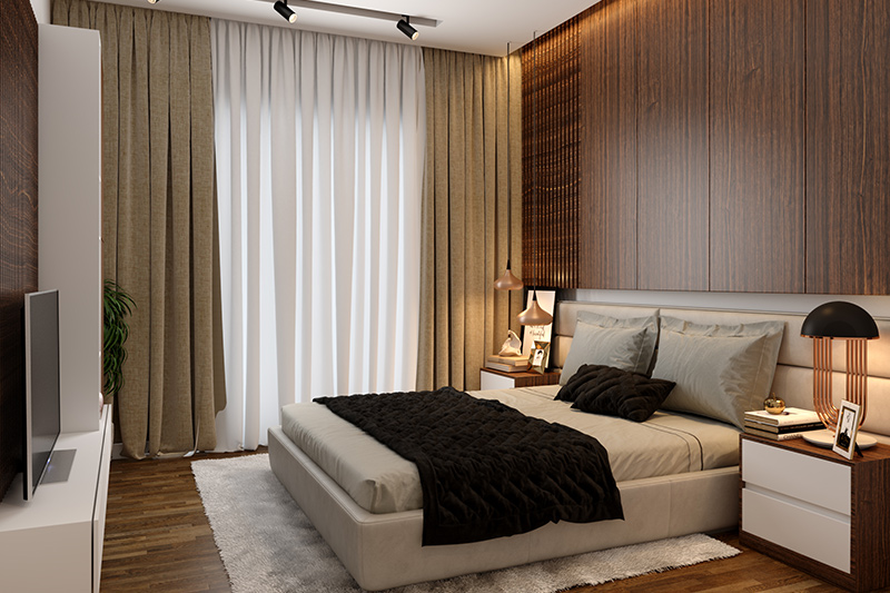 modern bedroom ideas where  it doesn't get more classic than this modern master bedroom