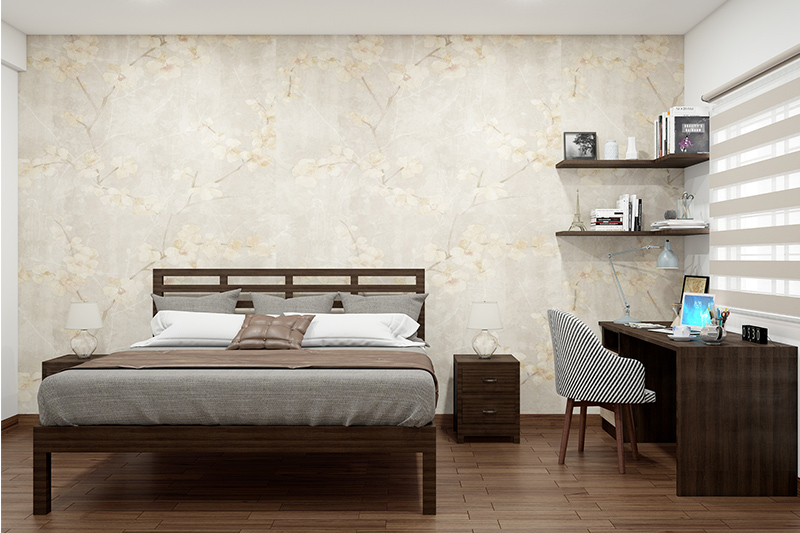 Study room in bedroom ideas for your home where you are free from distractions and can focus on your work in this study bedroom design