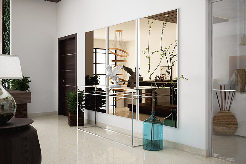 Mirrors are an excellent summer home decor idea to give your home a classy look this summer.