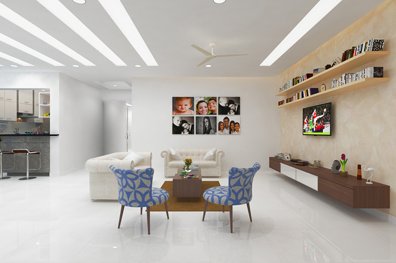 Wall tiles for living room which are easy to care for and for long-lasting beautiful tiles for living room