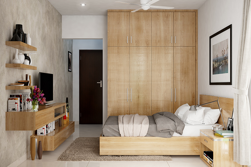 Wooden cupboard designs for bedrooms which suits the theme of almost any style of bedroom cupboard designs