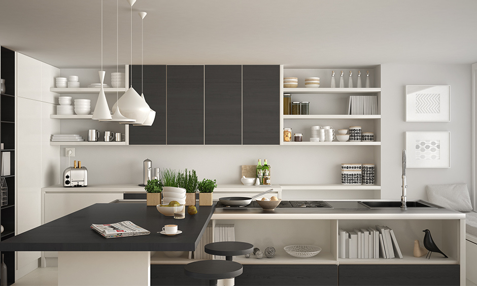 Grey and White kitchen design ideas for your home