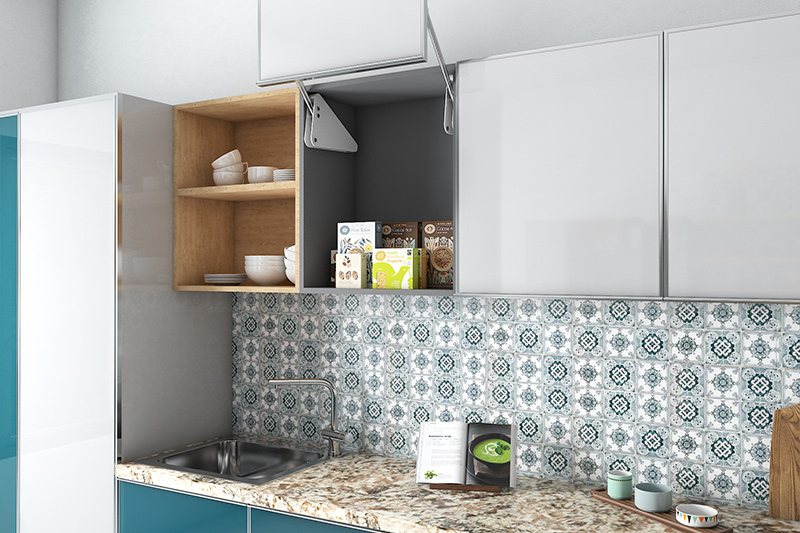 New trends in home decor minimalist approach and small cooking space comes in need to keep kitchens open, airy, and organised.
