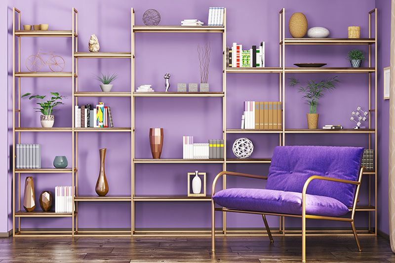 How to make bookshelf at home with waste material is what you can learn from the image to make a bookshelf design for home