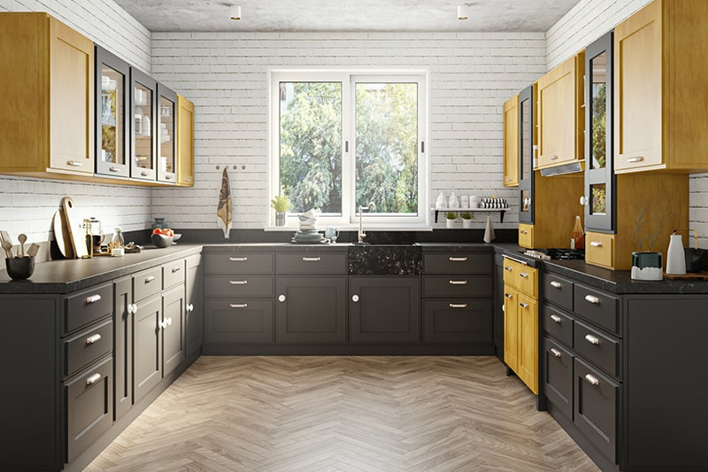Bold style kitchen design to take your kitchen from bland to bold with just the right hearty colour