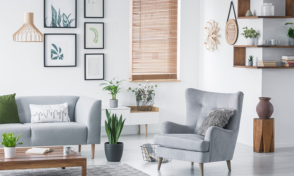 Living room corner decor ideas to turn awkward spaces into a beautiful nook and give extra storage