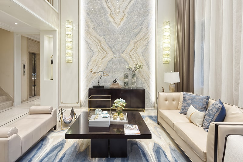 Traditional style living room interior design trends with modern twist in hyderabad 2020