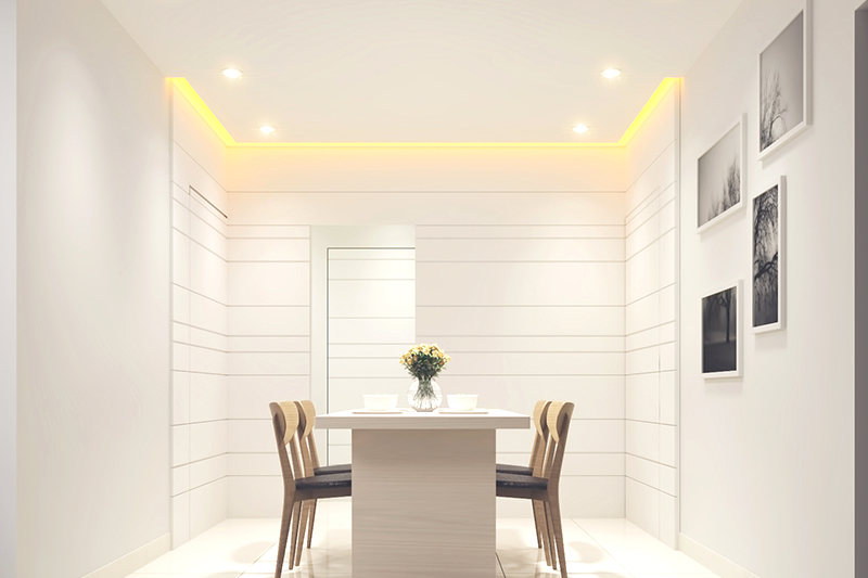New home trends, having a separate dining room where families will increasingly have meals together.