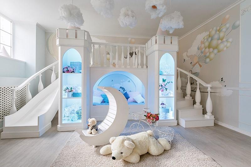 Ultra modern bed design with slides for your unique bedroom
