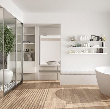 White bathroom design ideas for your home